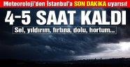 İstanbul için şiddetli yağış uyarısı! Günlerce sürecek