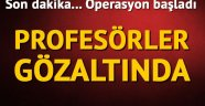 İzmir'de 23 akademisyene FETÖ/PDY operasyonu