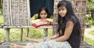 """Kamboçya'da küçük kızlar için hazırlanan """"aşk kulübeleri"""""""