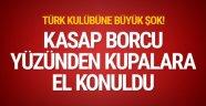Kasap borcu nedeniyle Manisaspor'un kupalarına el konuldu