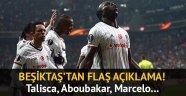 Metin Albayrak'tan Talisca, Aboubakar ve Marcelo sözleri