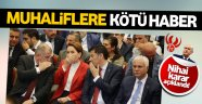 MHP'de muhaliflere kötü haber