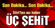 PKK'dan askere bombalı tuzak! 3 Şehit