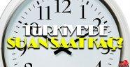 Saat kaç? Saatler geri alındı mı? Türkiye'de gerçek saat kaç?