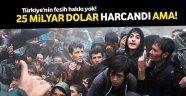 Sığınmacılar Türkiye'ye kaldı
