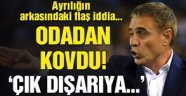 Trabzonspor yönetimi ile Ersun Yanal arasında yapılan toplantıda sert sözler!