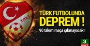 Türk futbolunda deprem ! Maça çıkmayacaklar...