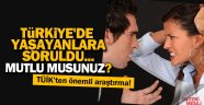 Türkiye'de halk umutsuz ve mutsuz
