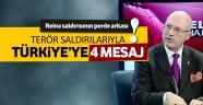 Türkiye'ye 4 kritik mesaj