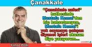 Yılmaz Özdil yazdı Çanakkale...