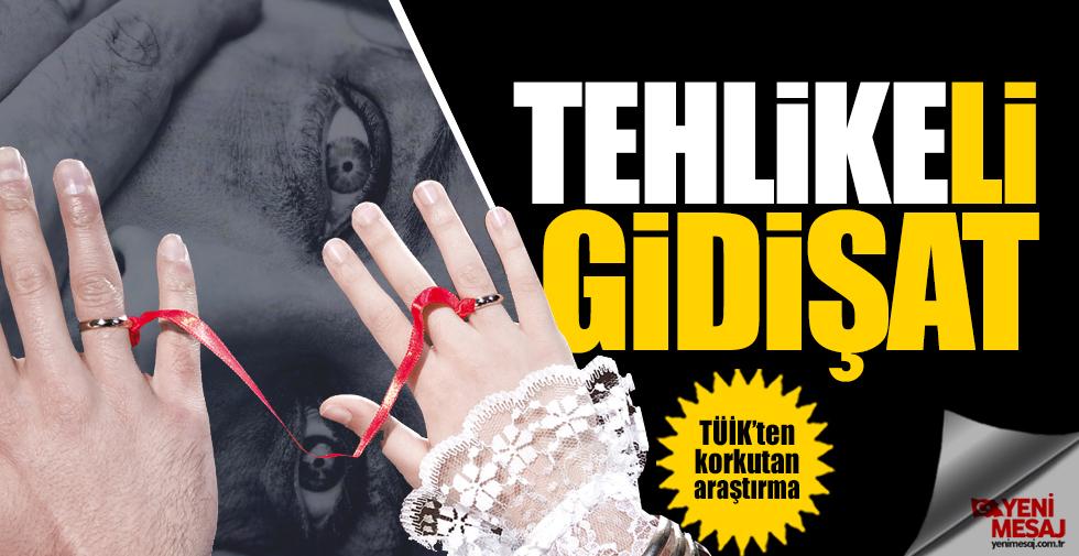 Tehlikeli gidişat! TÜİK'ten 'kadın' raporu