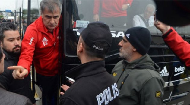 Trabzon'da Şenol Güneş'i kızdıran sözler Trabzonu sattın