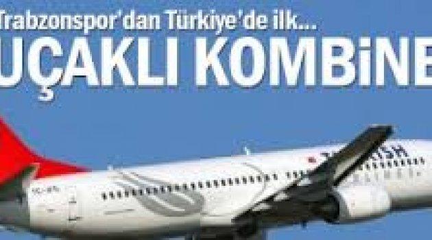 """Trabzonspor'dan 'Uçaklı' ve 'Otobüslü"""" Kombine"""
