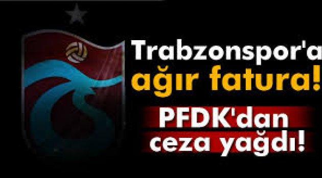 Trabzonspor'a ceza yağdı!