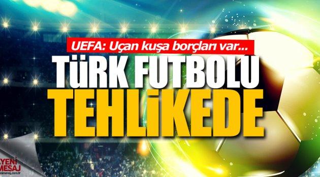 Türk futbolu borca battı