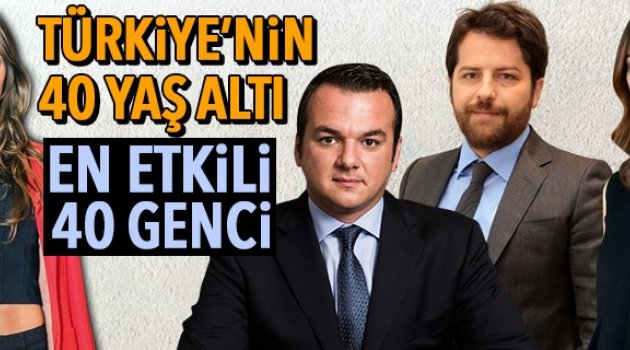 Türkiye'nin en genç liderleri