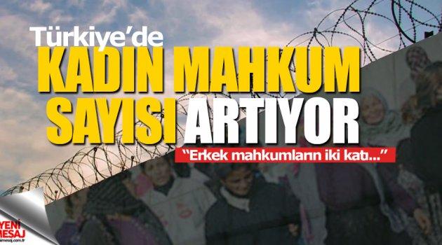 Türkiye'de de kadın mahkum sayısı artıyor