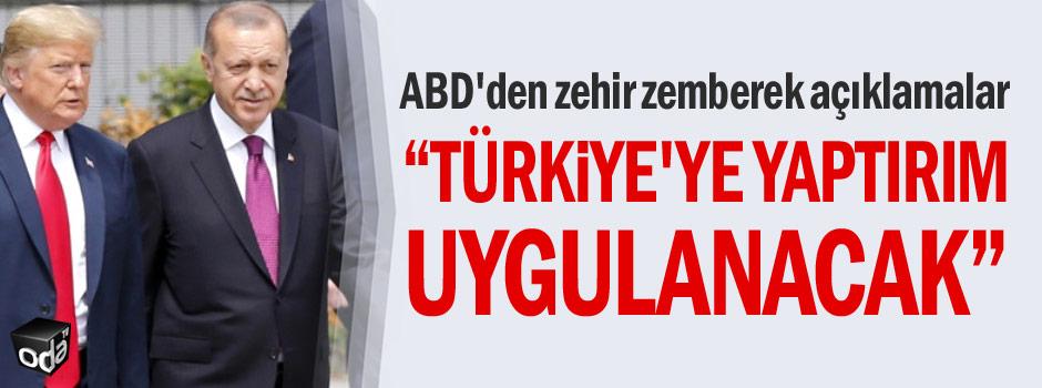 Türkiye'ye yaptırım uygulanacak