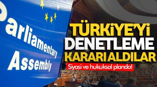 Türkiye'yi denetleyecekler!