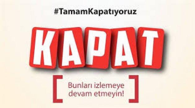 Twitter'da Televizyon Kanallarına Boykot: #KapatGitsin