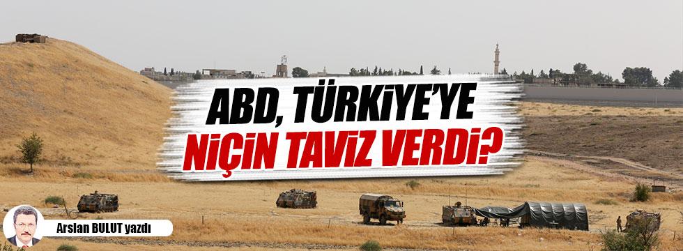 ABD, Türkiye'ye niçin taviz verdi?