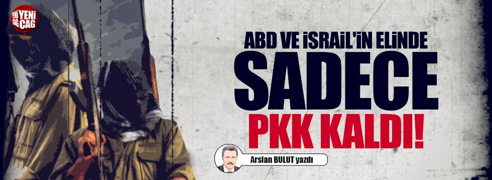ABD ve İsrail'in elinde sadece PKK kaldı!