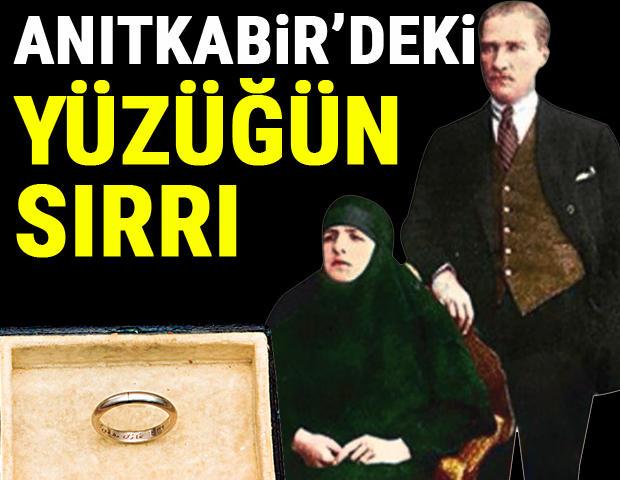 Ata'nın alyansı... İşte Atatürk'ün Latife Hanım'a taktığı nikâh yüzüğü