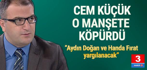 """""""Bu manşetle beraber Hande Fırat ve Hürriyet intihar etmiştir."""
