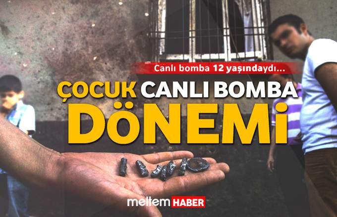 Çocuğu canlı bomba yapan ey Ortadoğu Allah belanı versin