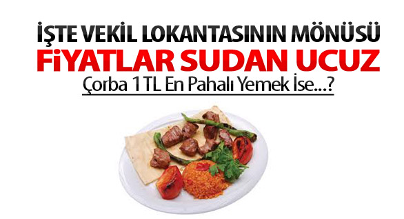 Çorba 1 Kavurma 6 Lira: Meclis Lokantasındaki Fiyatlar Enflasyona Meydan Okuyor