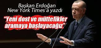 Cumhurbaşkanı Erdoğan New York Times'a yazdı: