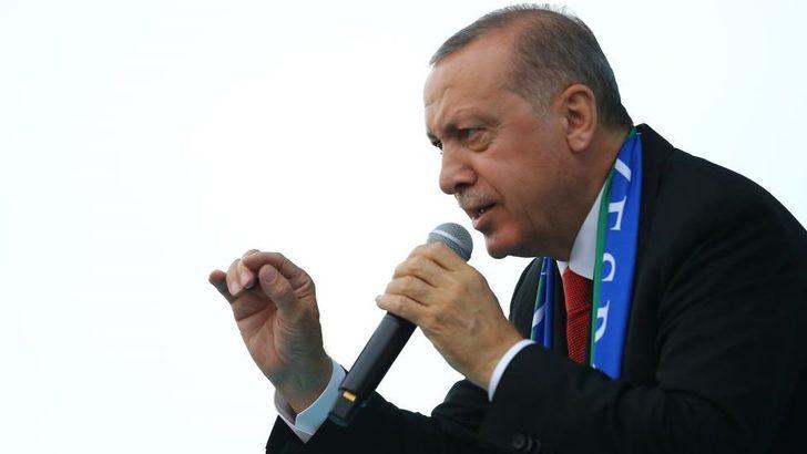 Erdoğan'dan Demirtaş açıklaması: Tutuklu olan kişi aday olamaz, olmamalı