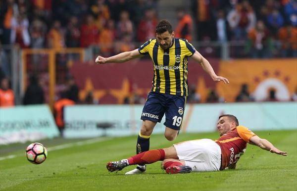 Fenerbahçe Galatasarayı son dakika gölüyle yendi
