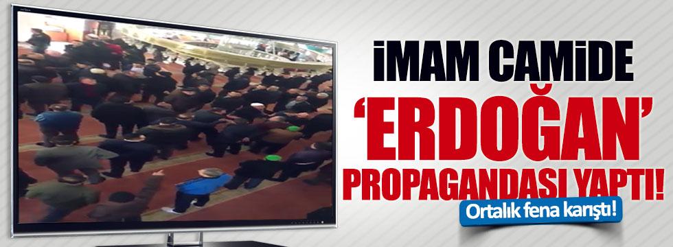 Gaziantep'te bir imam, camide Evet propagandası yaptı