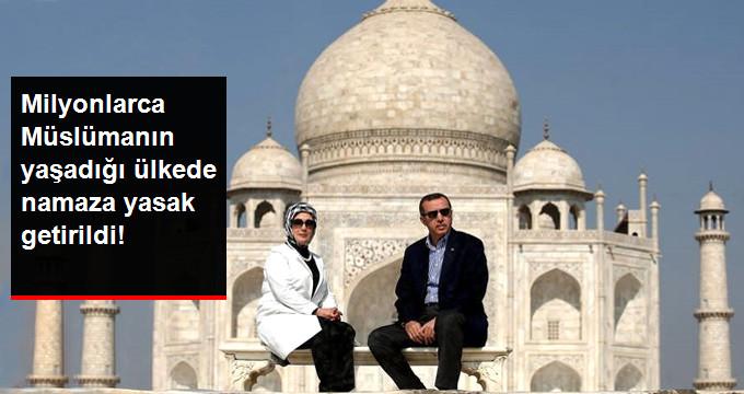 Hindistan'da, Tac Mahal'de Namaz Kılmak Yasaklandı!