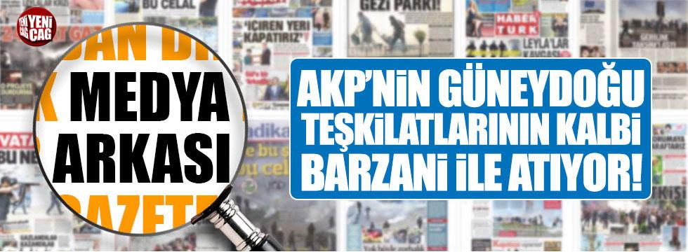 Kalpleri Barzani ile çarpan çok kişi var
