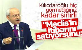 Kılıçdaroğlu'ndan Meclis'te tansiyonu yükselten tarihi konuşma