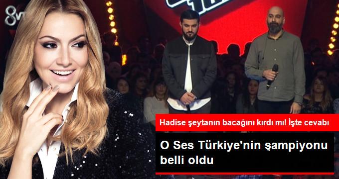 O Ses Türkiye'nin Şampiyonu Belli Oldu!