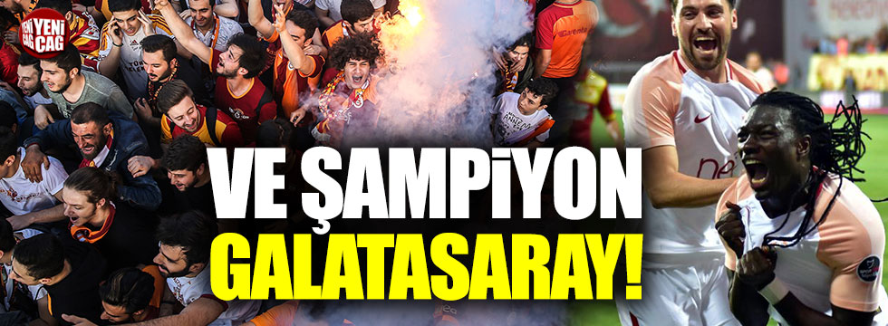 ŞAMPİYON GALATASARAY....