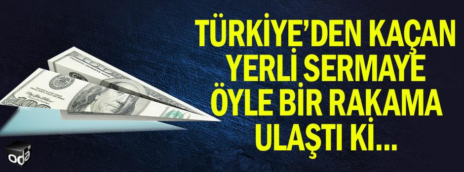 Türkiye'den kaçan yerli sermaye