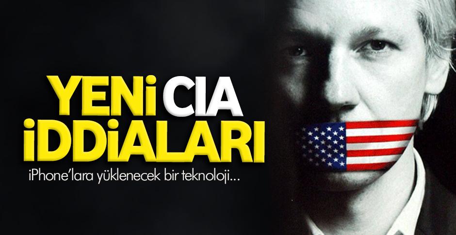 Wikileaks'ten yeni CIA iddiaları