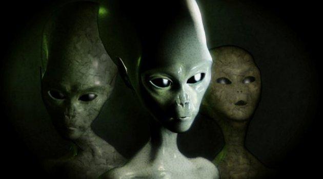 Uzaylılar dünyayı ziyaret etti