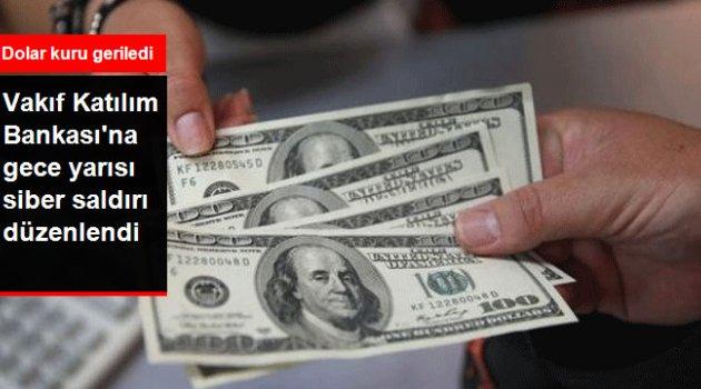 Vakıf Katılım Bankası'na Siber Saldırı! Dolar Kuru 4,55 Bandına Düştü