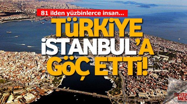 Yarım milyon insan İstanbul'a göç etti