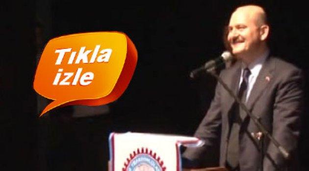 """""""Yaşa Süleyman Soylu Paşa yaşa"""" diye marş söylediler"""