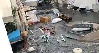İzmir deprem sonrası tsunami,