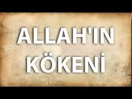 Arapların Tanrısı Allah Ve Kökeni.