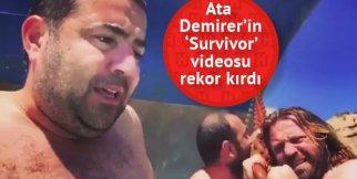 Ata Demirer'den 'Survivor' videosu